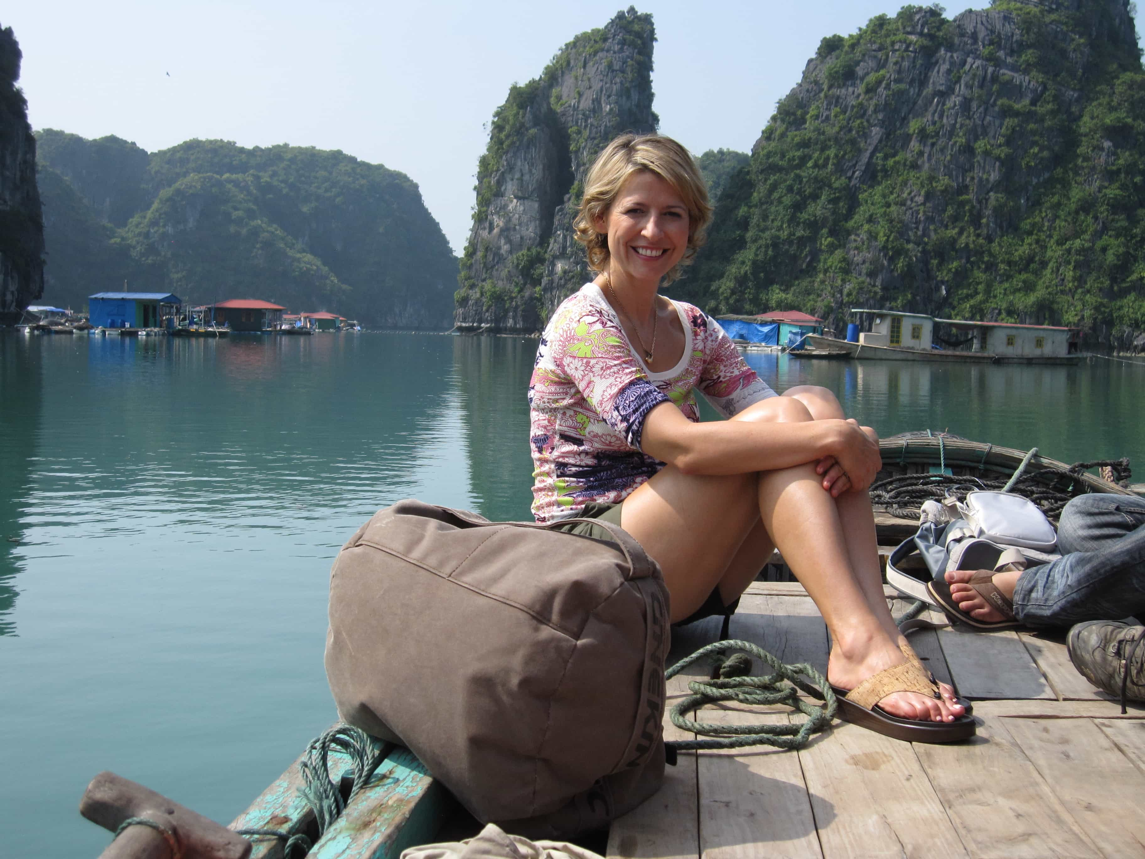 Samantha Brown In Vietnam
