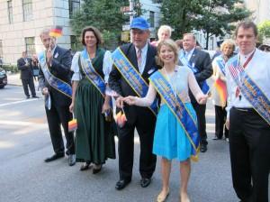 Samantha Brown German-American Parade, New York