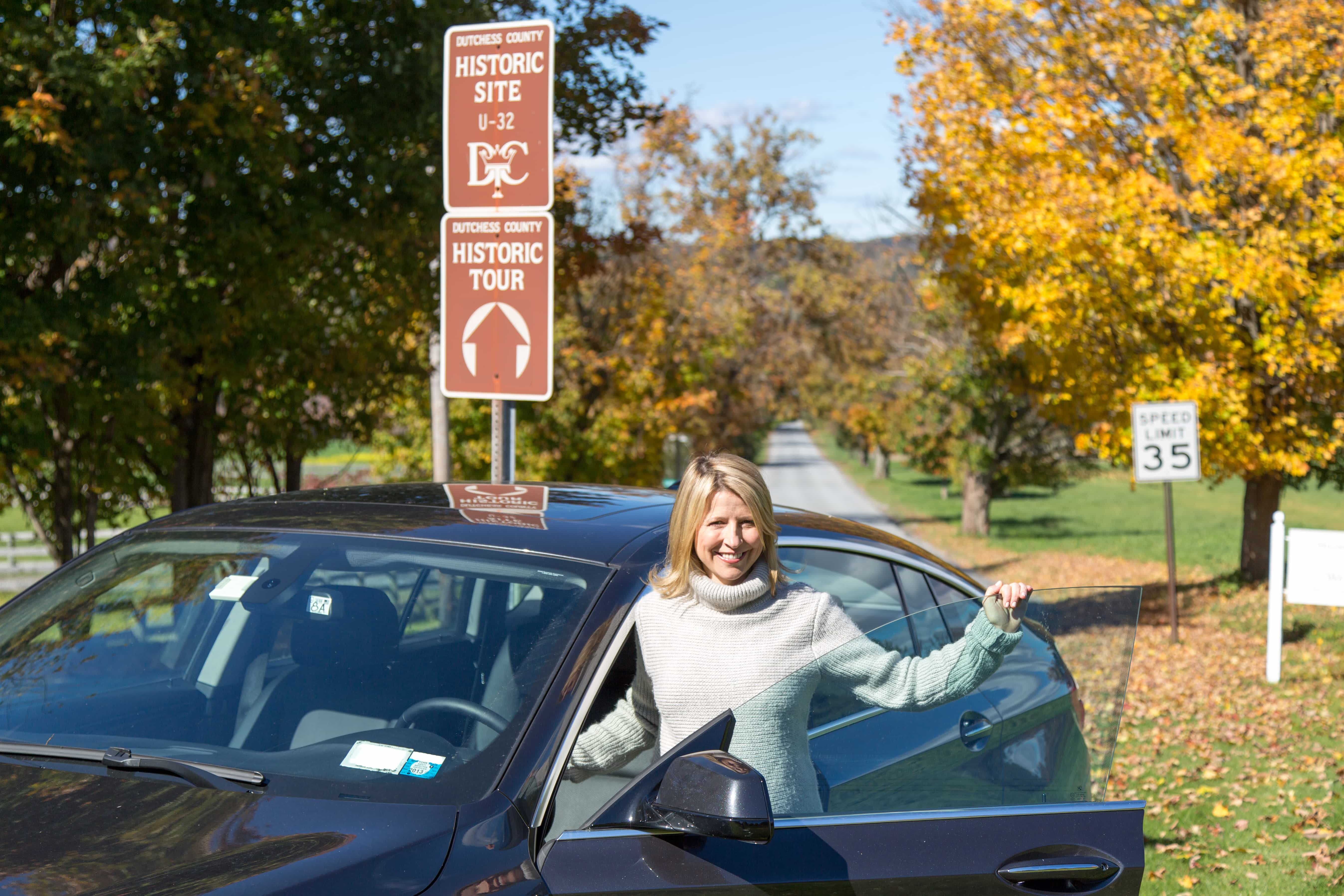 Travel Channel's Samantha Brown On Her Favorite Fall Drive In The Hudson Valley