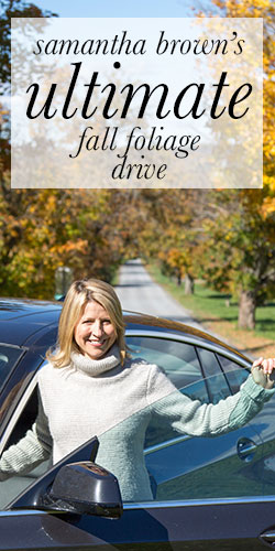 Samantha Brown shares her favorite fall drive in the New York's Hudson Valley