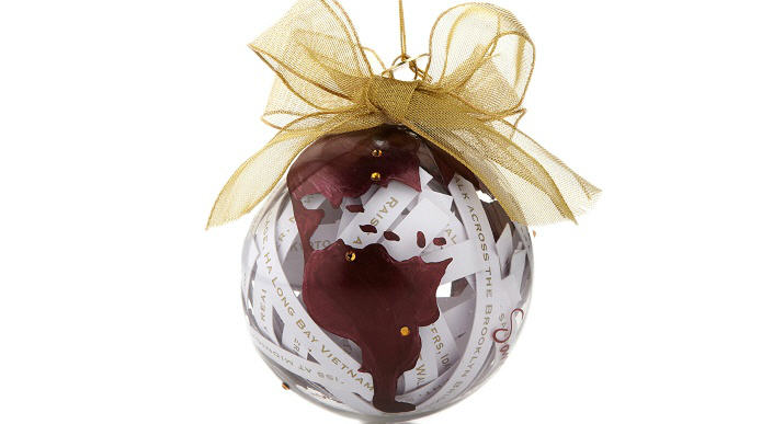 Samantha Brown 2012 Ornament - Limited Edition By HSN