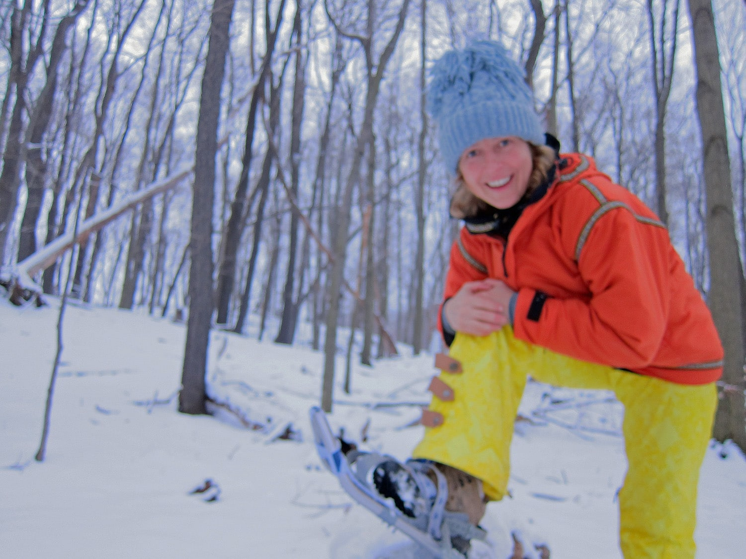 Samantha Brown Snowshoe Outdoor Sports