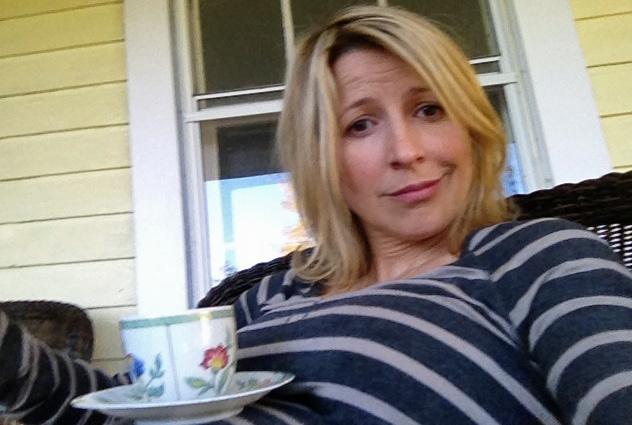 Samantha Brown Pregnancy - Tea Cup