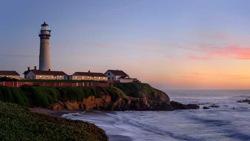 Pigeon Point Lighthouse California Honeymoon