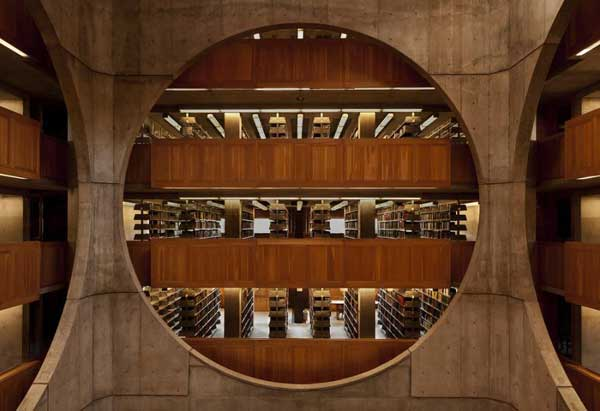 Philips-Exeter-Academy's-Library