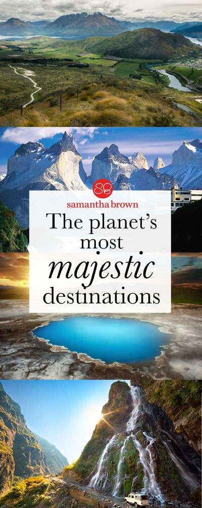 Love nature? Me too. From mountain retreats to far-flung islands, here are some of the planet's most majestic destinations.