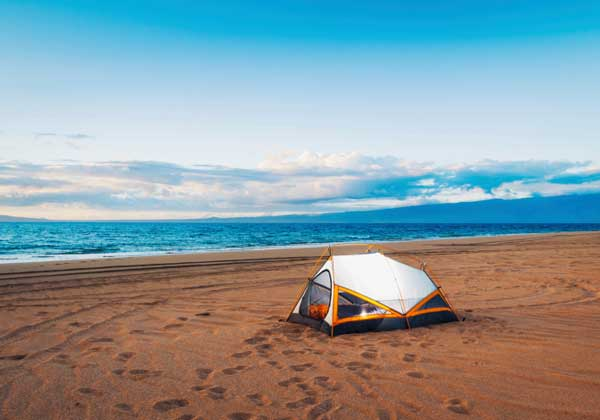 The Most Beautiful Beach Campsites In The USA