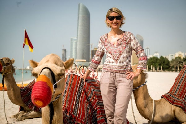 Samantha Brown - Abu Dhabi