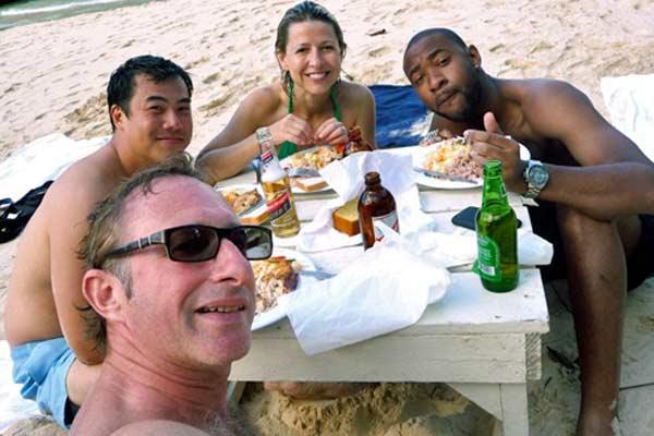 Samantha-Brown-Beach-Food