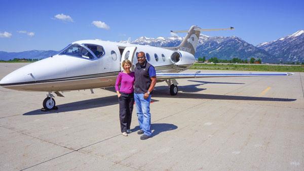Samantha Brown & Chris Grundy - 50/50 - Jackson Hole