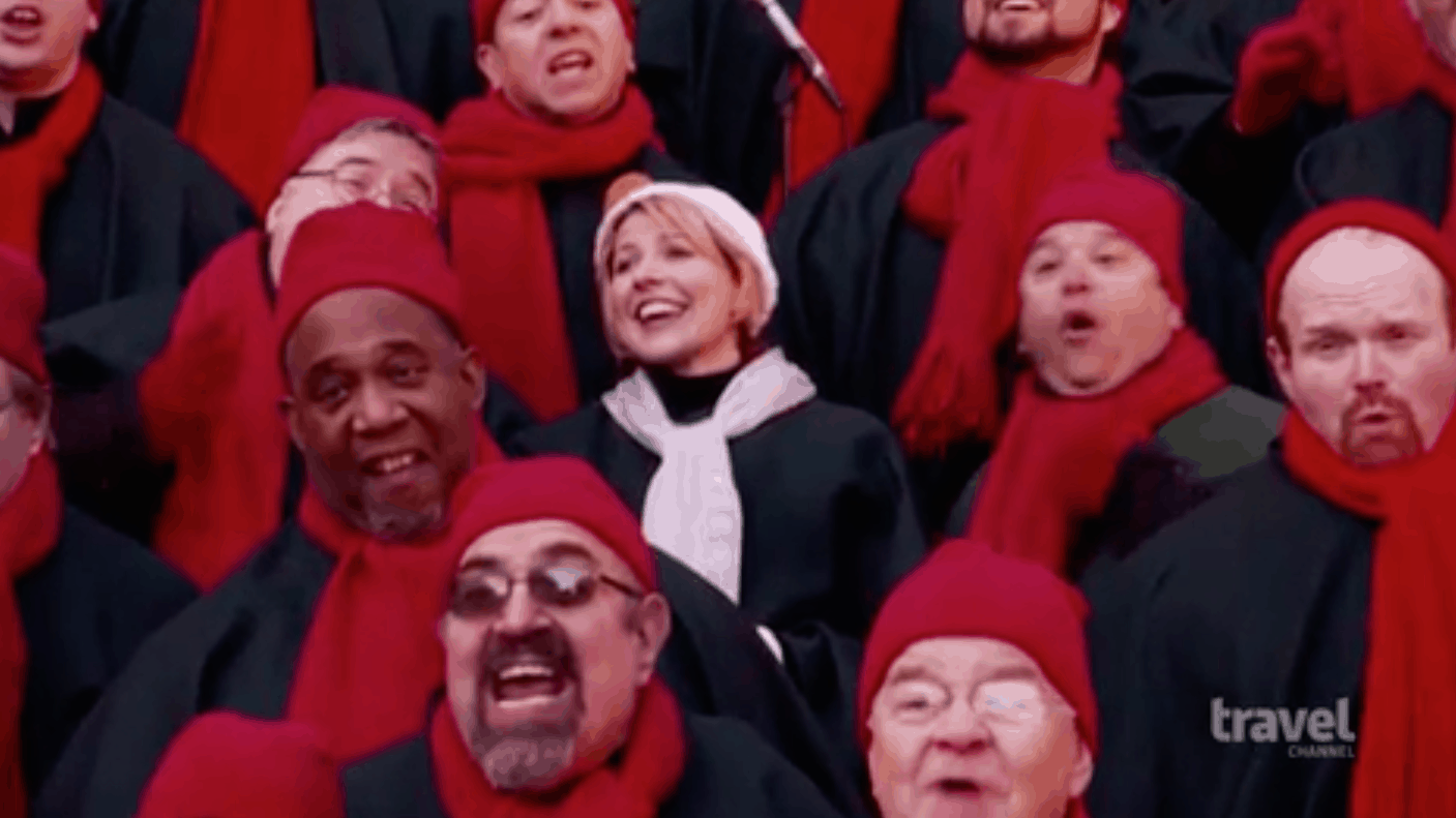 Samantha Brown Sings With The Big Apple Chorus