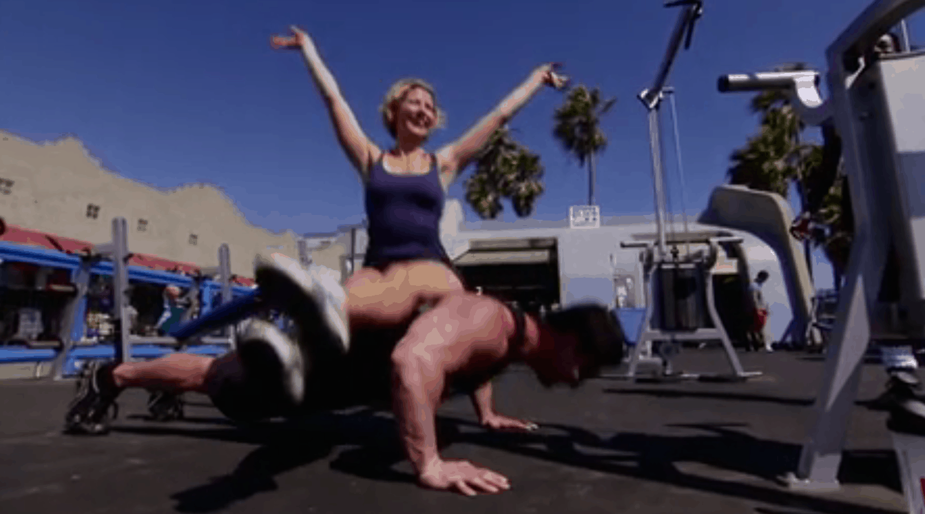 What It's Like To Pump Iron At Venice's Muscle Beach