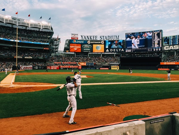 best ballparks - samantha brown - yankee stadium