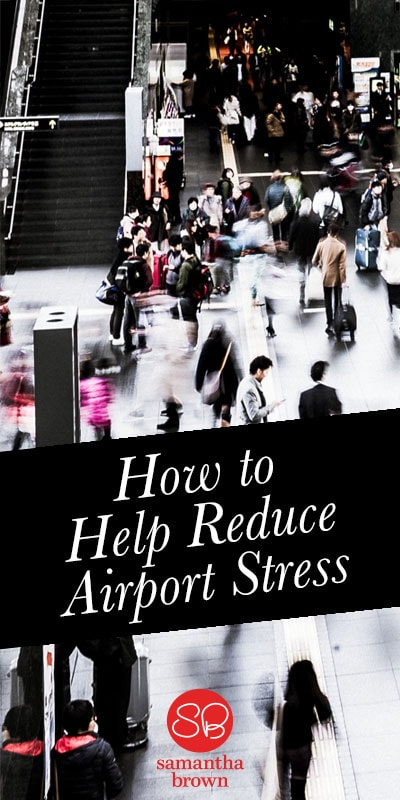 As someone who travels a lot, I've discovered a lot of ways to reduce airport stress. Check out this video for some of Travel Channel's Samantha Brown's best tips.