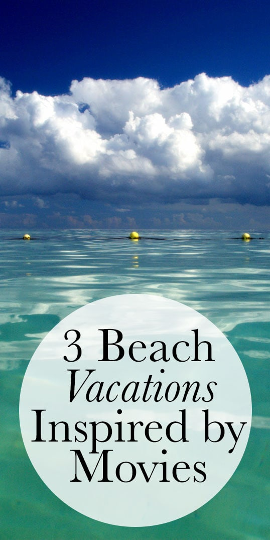 If you live some place cold like me, you probably find yourself daydreaming about a beach vacation… many, many times a day. However, if that's not in the cards, I'll settle for a movie. Here are three great vacations you can take in real life, or just pretend from the comfort of your couch.