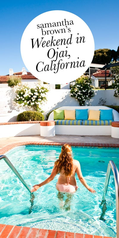 With its fabulous spas, excellent wines, fun culture and stunning vistas, I have to believe Ojai is one of the most romantic destinations in the USA.