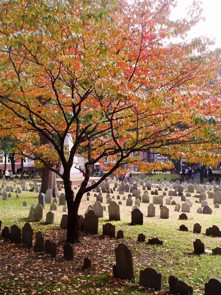 Boston Freedom trail graveyard
