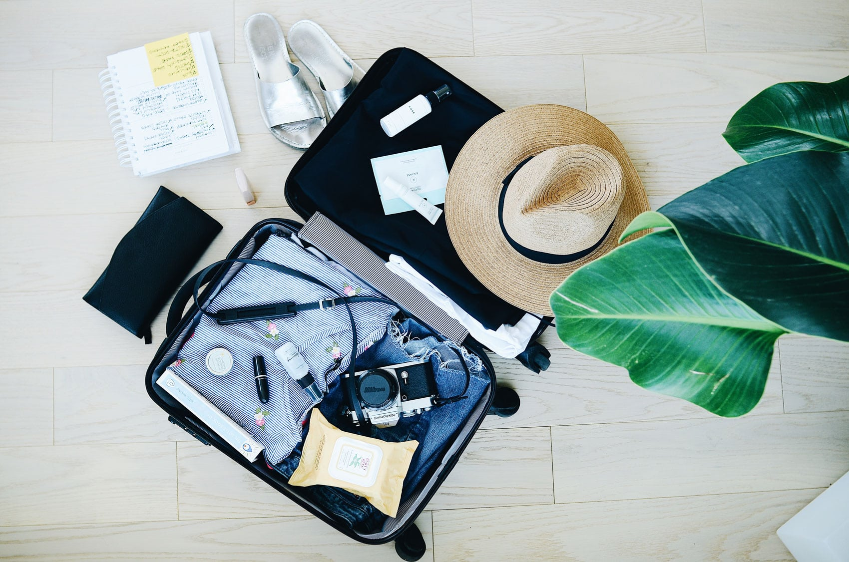 Samantha Brown On How To Pack A Suitcase For A Long Weekend.