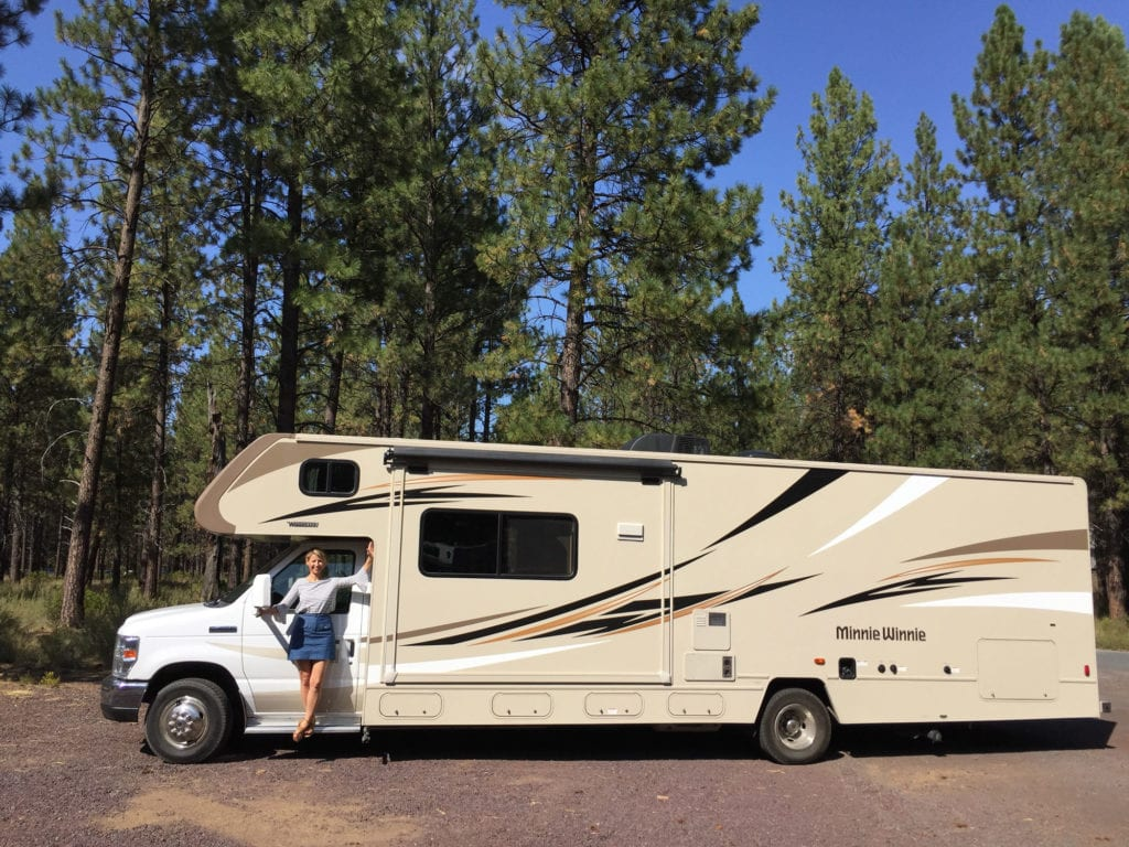 samantha brown - rv - road trip