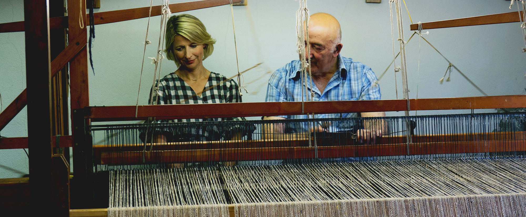 Samantha Brown's Places To Love - Donegal, Ireland - Weaving Tweed