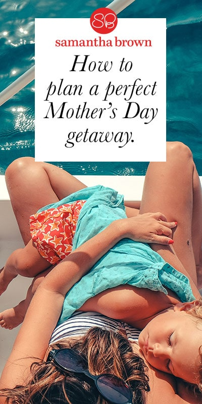 Whether you're looking to treat your wife, partner, or own mother with time away for Mother's Day, don't focus on picking the perfect destination. It's more about allowing the hardest working, most devoted person you know a stress-free escape. Here's a few tips for making the gift of vacation a treat for mom.