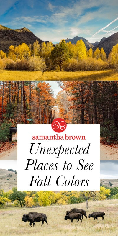 As a born and bred New Englander, my fall color focus tends to be a bit skewed. However, there are so many other places to see the fall season showing off. What's especially great is that places peak at different times, from September through November! If you're looking to get a little leaf peeping in, here are some fabulous places to do so.