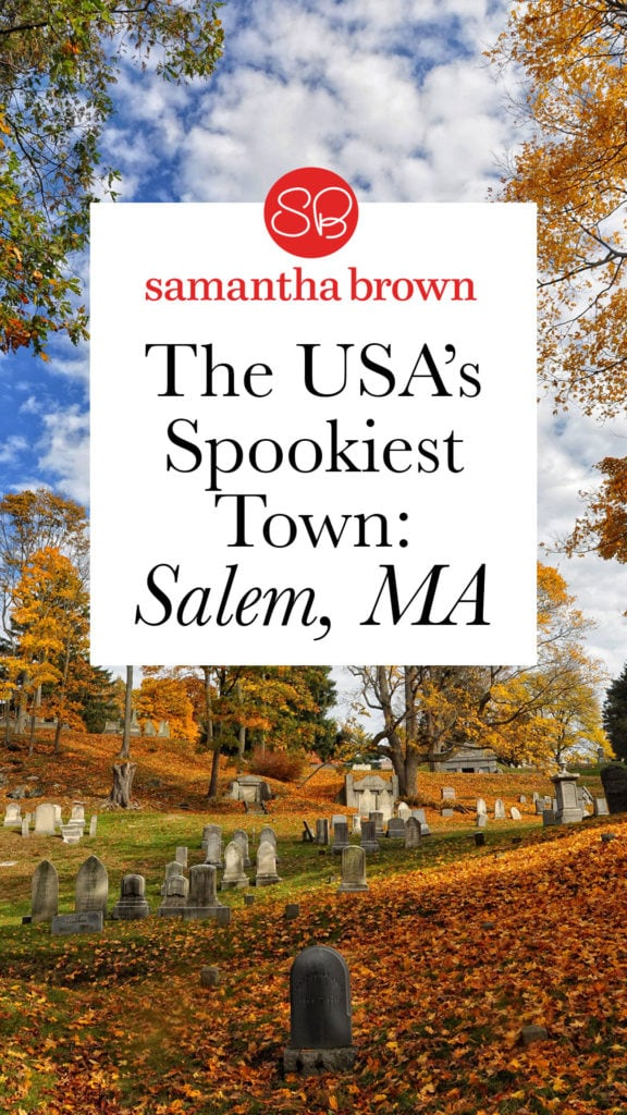 """When it comes to fall destinations, few can beat Salem, Massachusetts. Dubbed """"Witch City,"""" there's more history and supernatural speculation here than just about anywhere else in the country. That said, it's not all witches and ghosts. Salem is a beautiful seaside town with excellent food, beautiful architecture and stunning hotels and bed and breakfasts."""