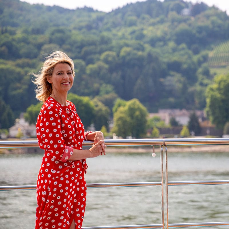 Samantha Brown - Rhine River Cruise