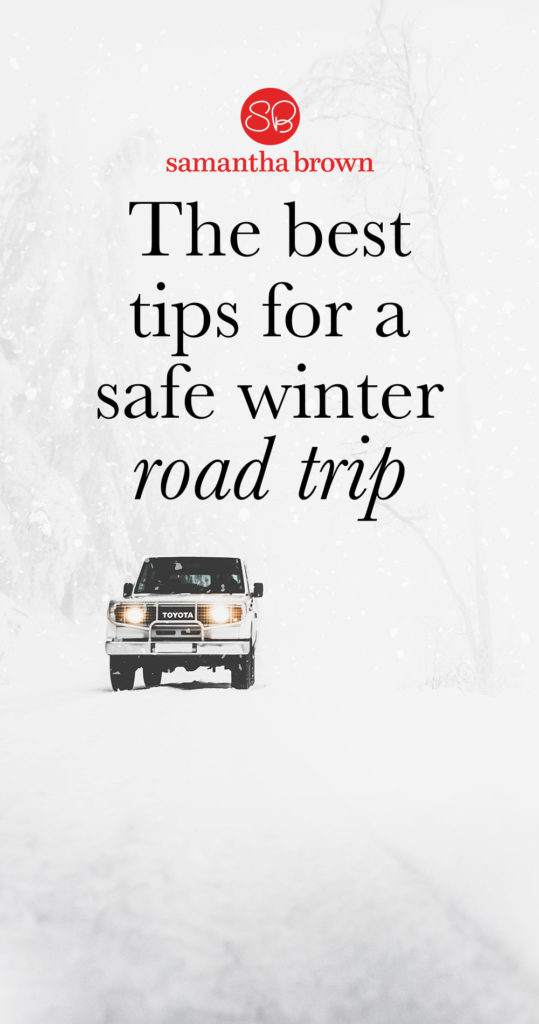 Wanna know my biggest travel paranoia? Being stranded in my car in a snowstorm….and I live in NYC. Here are my best tips for a safe winter road trip