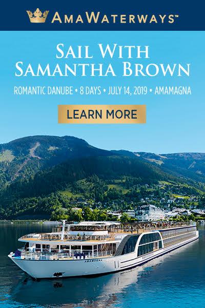 Samantha Brown AmaWaterways