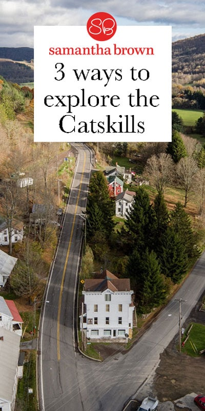If you're looking to escape, things will be great for you in the Catskills! Here are three ways to explore this beautiful, wild, bucolic region just a few hours' drive from the heart of New York City.