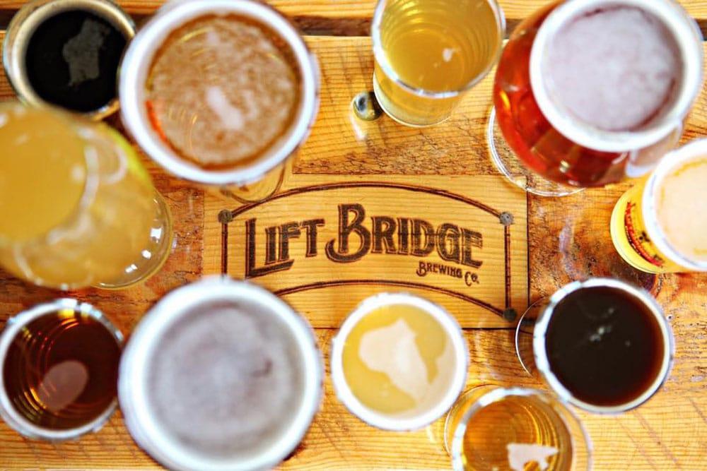 Photo courtesy Lift Bridge Brewing