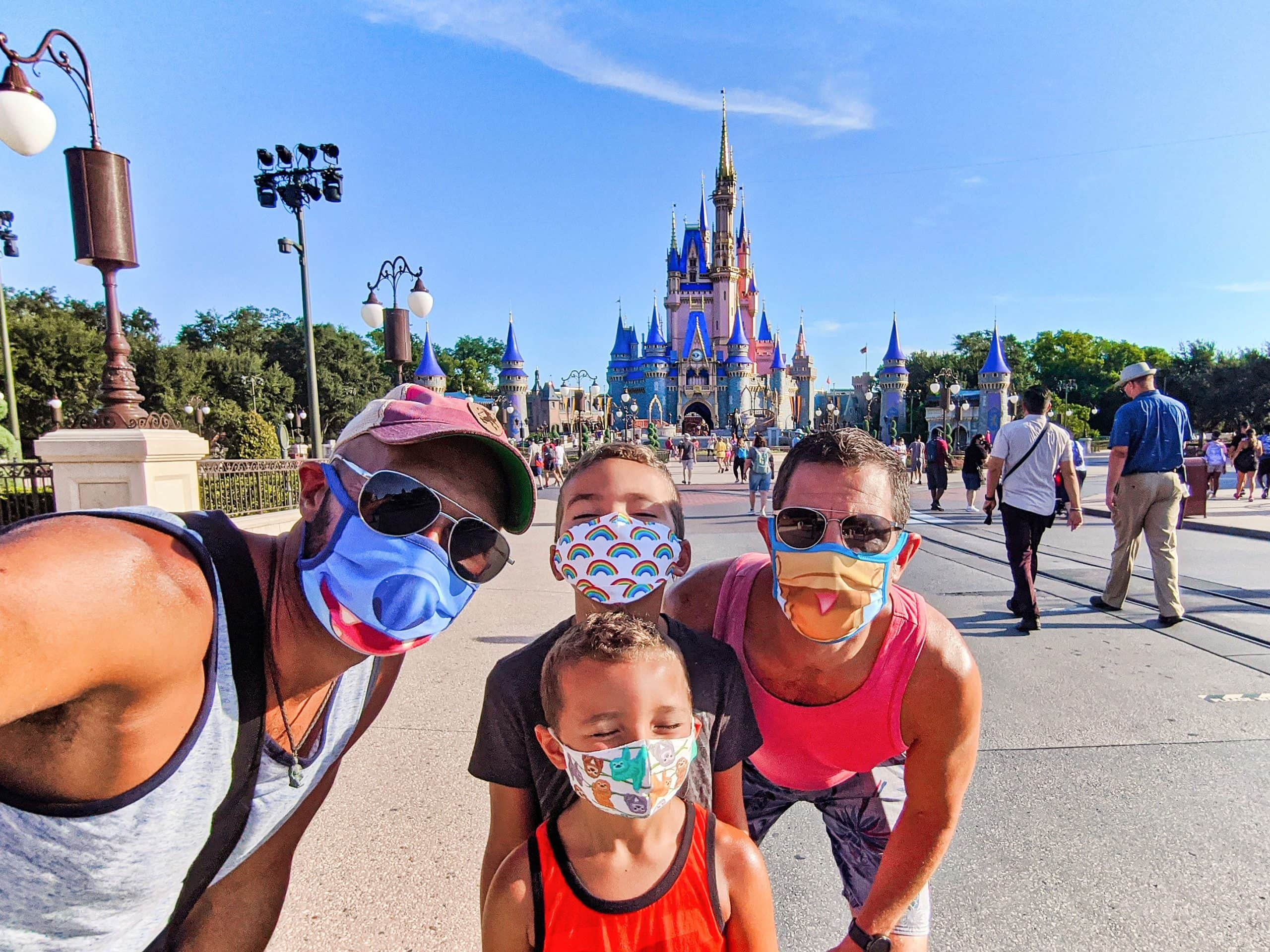 Covid Travel - Disney World - FLorida