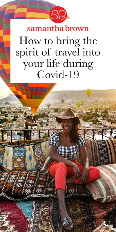 How do you discuss travel when just about everyone, including yourself, isn't traveling? I decided to reach out to other professional and avid travelers to see what travel during Covid-19 looks like for them. I love how inventive travelers are—so many great and inspiring ideas for infusing the spirit of travel into our lives during this complicated time!