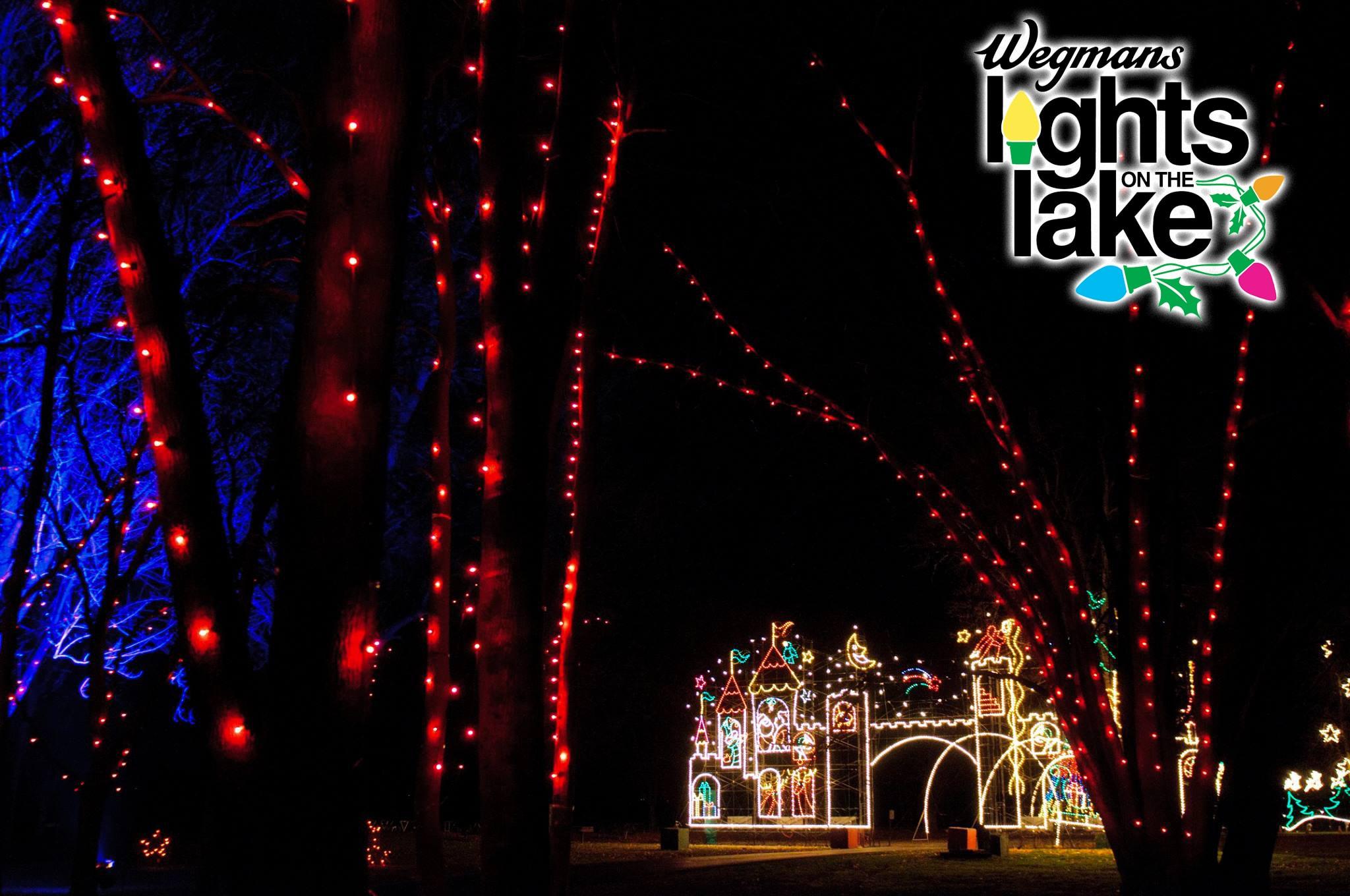 Lights on the Lake - Christmas drive thru lights