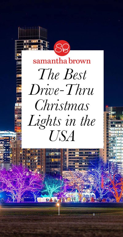 The holidays are upon us. We're being encouraged to cancel the big family dinners, cocktail parties and group gatherings. It's sad, and it's necessary. That's why I am committed to finding safe ways to partake in the season. What better way to do so than checking out drive-thru light displays? Here are a handful from across the country.