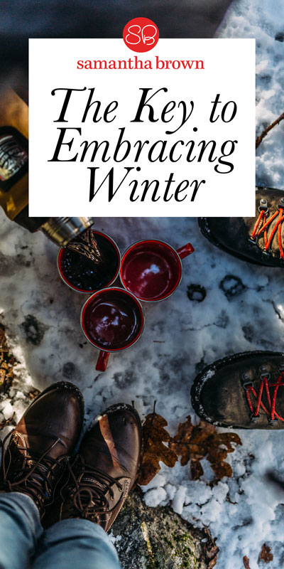 I personally love winter, snow, & cozying up in front of a fireplace after a day in the elements. The key to embracing winter? The right gear.