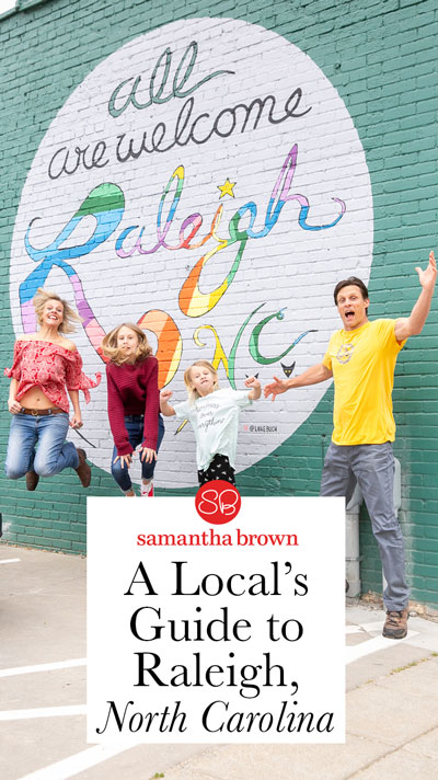 Craig and Caroline Makepeace are the founders of ytravelblog.com, one of the world's biggest family travel blogs. Here's their guide to Raleigh, North Carolina.