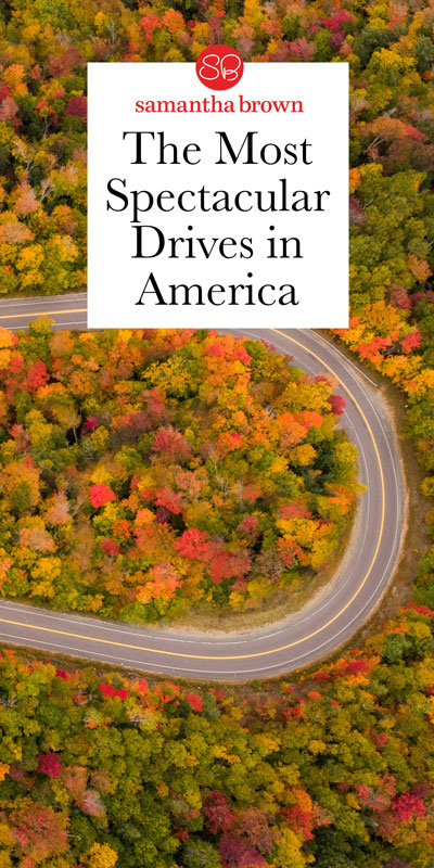 From winding mountain roads, to coastal highways, here are some of the nation's best drives.